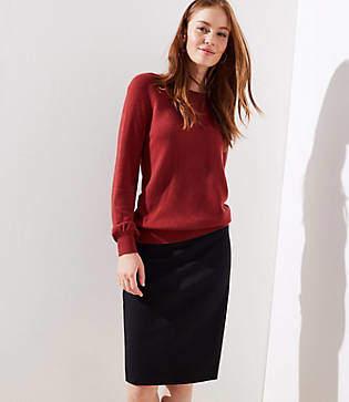 LOFT Petite Pencil Skirt