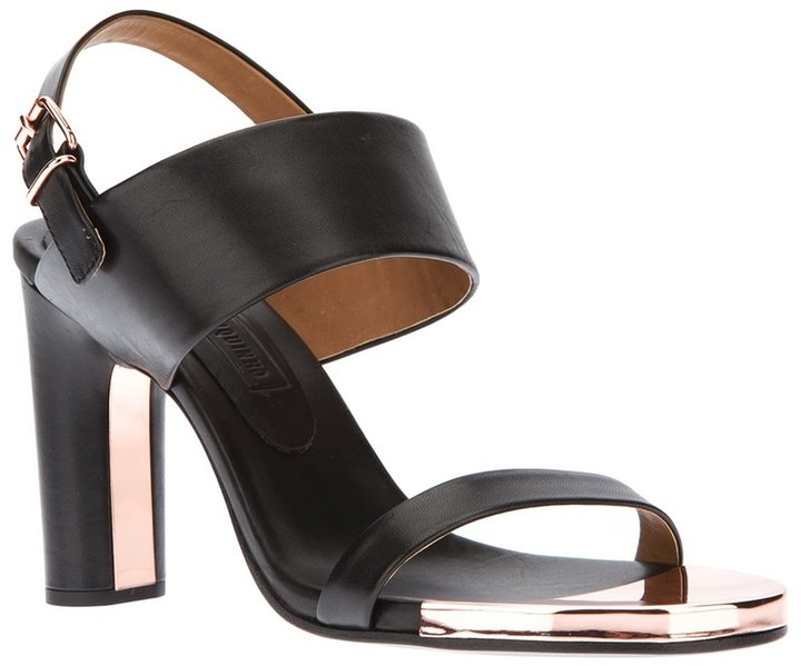 Veronique Branquinho metal detail sandal