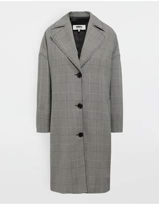 MM6 MAISON MARGIELA Oversized Checked Coat
