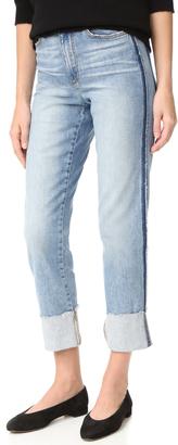 Joe's Jeans Debbie High Rise Straight Ankle Jeans $198 thestylecure.com
