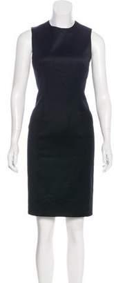 Versace Sleeveless Wool Mini Dress