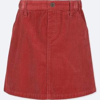 Uniqlo Girl's Corduroy Skirt
