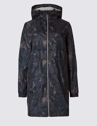 Marks and Spencer Shower Resistant Camo Pack-Away Mac