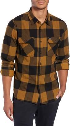 Brixton Bowery Buffalo Plaid Flannel Shirt