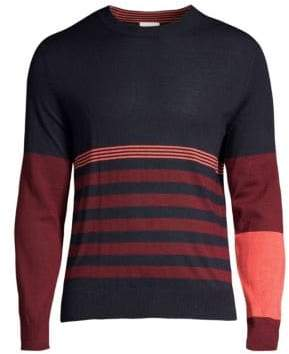 Paul Smith Wool& Silk Crewneck Sweater