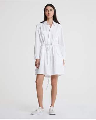 AG Jeans The Pause Parka Dress - True White