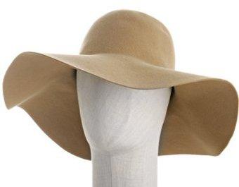 Patricia Underwood camel felt 'Bohemian' hat