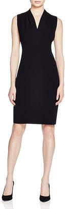 T Tahari Tonya Pleat Dress $118 thestylecure.com