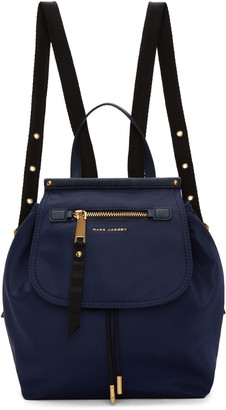 Marc Jacobs Navy Trooper Backpack $275 thestylecure.com