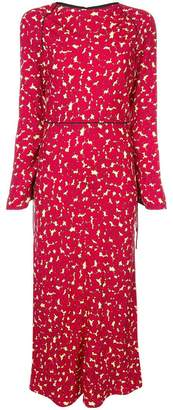 Marni floral midi dress