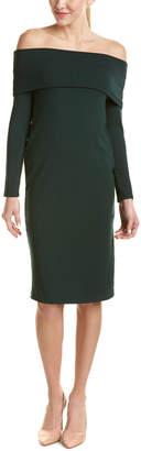 Splendid Off-The-Shoulder Sheath Dress