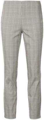 Rag & Bone checked cropped high-rise trousers