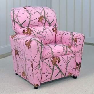 Mossy Oak Nativ Living Tween Recliner - Mossy Oak Lifestyle Pink