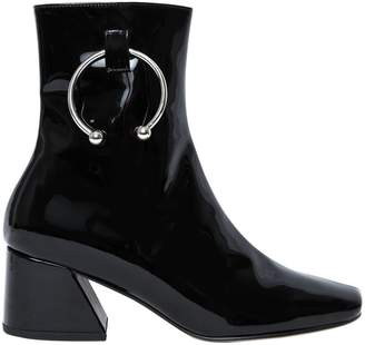 50mm Pierce Patent Leather Ankle Boots