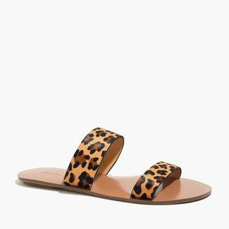 790828720e5a7 J.Crew Easy summer slide sandals in calf hair