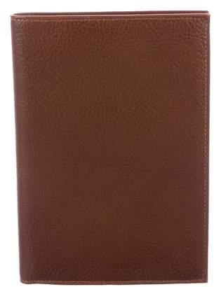 Kenzo Pebbled Leather Passport Holder