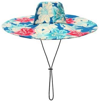 Etro Floral-printed cotton hat