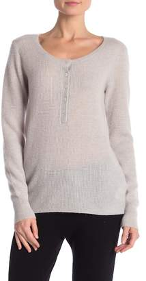 James Perse Cashmere Thermal Henley