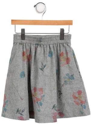 Little Remix Girls' Floral A-Line Skirt