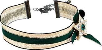 Steve Madden Ribbon Star Choker Necklace