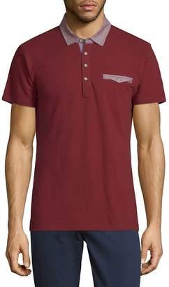 Saks Fifth Avenue Men's Short-Sleeve Cotton Polo