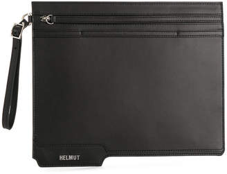 Helmut Lang zipped clutch