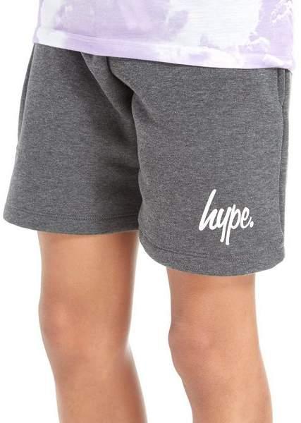 Script Fleece Shorts Junior