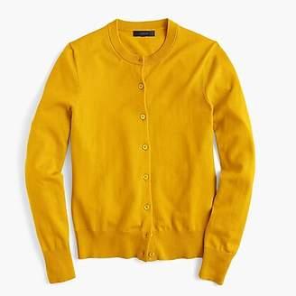 J.Crew Cotton Jackie cardigan sweater