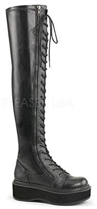 Demonia Women's Emily-375 Over The Knee Boot