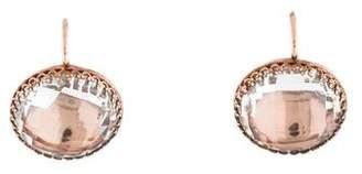 Larkspur & Hawk Button Earrings