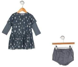 Stella McCartney Girls' Star Print Dress Set