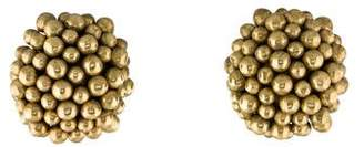Vaubel Beaded Cluster Clip-On Earrings