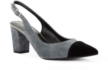 Women's Shoes Of Prey X Eleanor Pendleton Block Heel Slingback Pump