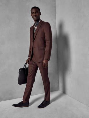 Ted Baker PALACET Slim fit plain wool suit pants