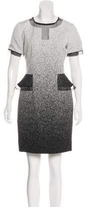 Jonathan Simkhai Short Sleeve Mini Dress