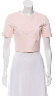 Ted Baker Short Sleeve Bows-Accented Top