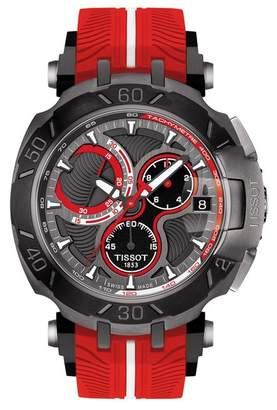 Tissot Men's T-Race Lorenzo Swiss Quartz Sport Watch, 47.2mm