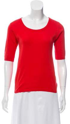Sonia Rykiel Sonia by Scoop Neck Lightweight Sweater