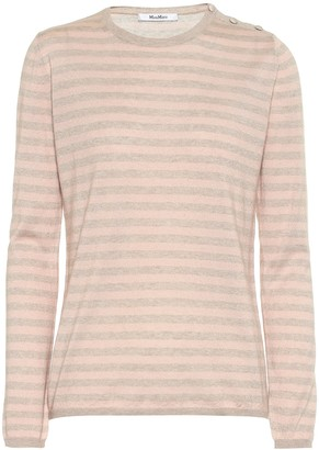 Max Mara Berma silk and cashmere sweater