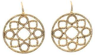 Syna 18K Diamond Large Mogul Drop Earrings