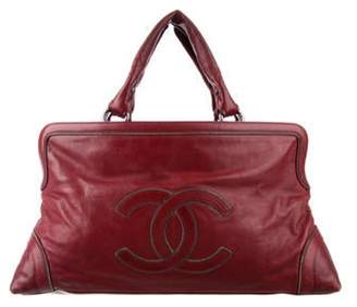 Chanel Chainstitch Framed Tote red Chainstitch Framed Tote