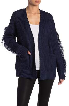 John & Jenn Fringe Sleeves Cozy Cardigan