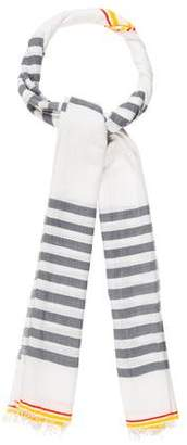 Lemlem Striped Frayed Shawl