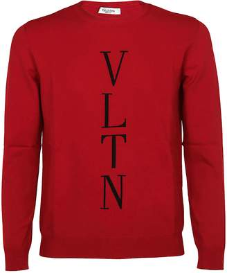 Valentino Woven Logo Jumper
