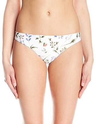 Shoshanna Women's Botanical Floral Classic Bikini Bottom
