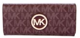 MICHAEL Michael Kors Fulton Monogram Wallet w/ Tags