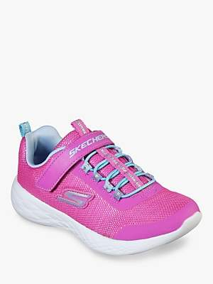 Skechers Children's Go Run 600 Sparkle Run Trainers, Pink