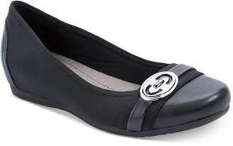 Bare Traps Miana Memory Foam Hidden-Wedge Flats Women's Shoes