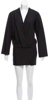 Hermes Silk Mini Dress