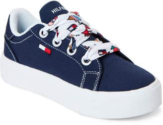 ba0cbae5 Tommy Hilfiger Toddler/Kids Girls) Navy Pina Platform Sneakers